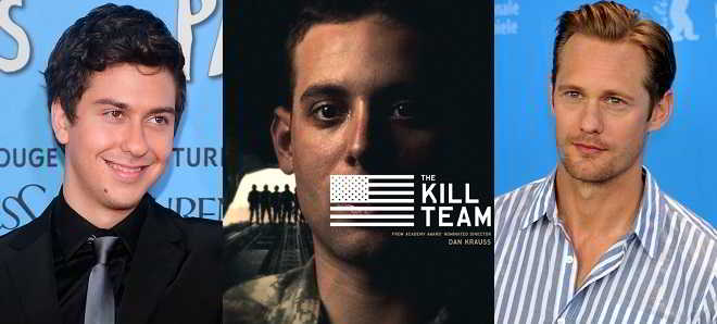 Nat Wolff e Alexander Skarsgard vão protagonizar 'The Kill Team'