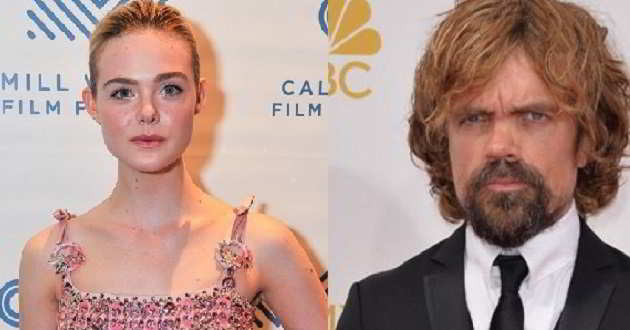 Elle Fanning e Peter Dinklage juntos no elenco do filme 'I Think We're Alone Now'