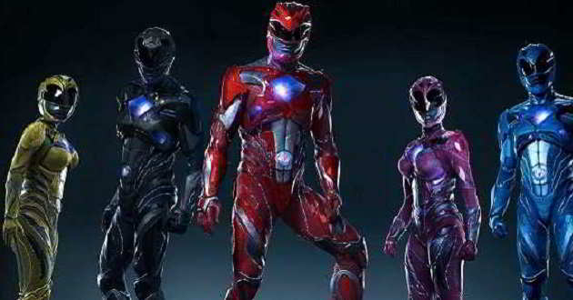 Prontos para a ação. Novos posters do reboot de 'Power Rangers'