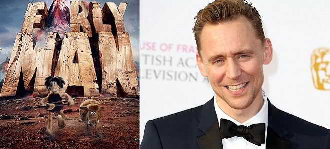 Tom Hiddleston juntou-se a Eddie Redmayne no elenco de 'Early Man'
