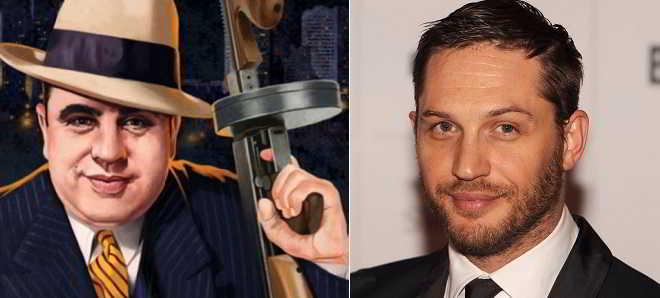 Tom Hardy vai ser o gangster Al Capone no novo filme 'Fonzo'