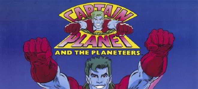 Em desenvolvimento uma adaptação cinematográfica de  'Capitão Planeta'