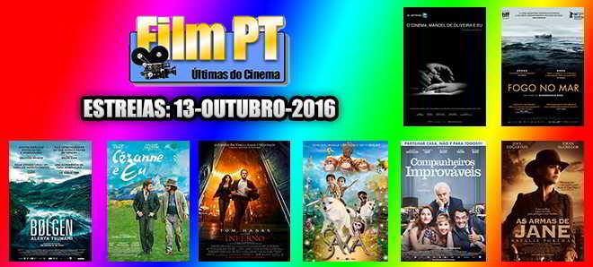 Estreias de Filmes da Semana: 13 de outubro de 2016