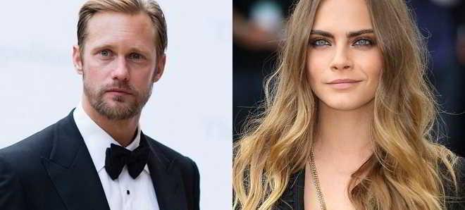 Alexander Skarsgard e Cara Delevingne juntos no thriller 'Fever Heart'