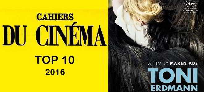 Top 10 da Cahiers du Cinéma: 'Toni Erdmann' eleito o melhor filme de 2016