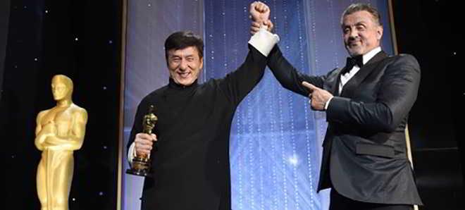 Jackie Chan já recebeu o Óscar Honorário da Academia de Hollywood