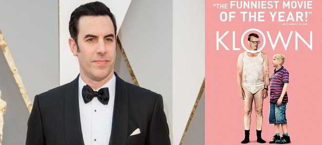 Sacha Baron Cohen vai protagonizar o remake da comédia dinamarquesa 'Klown'