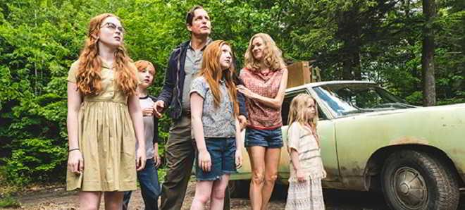 Primeiras fotos do drama 'The Glass Castle' com Brie Larson e Naomi Watts
