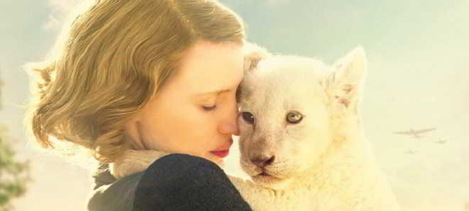 'The Zookeeper's Wife': Primeiro trailer oficial do drama com Jessica Chastain