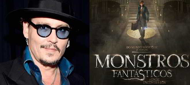Johnny Depp no elenco da sequela de 'Monstros Fantásticos e Onde Encontrá-los'