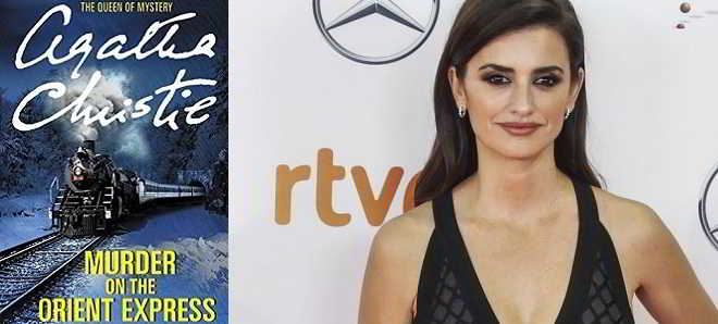 Penélope Cruz no elenco do remake de 'Um Crime no Expresso do Oriente'
