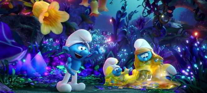 Novo trailer oficial da animação 'Smurfs: A Aldeia Perdida'