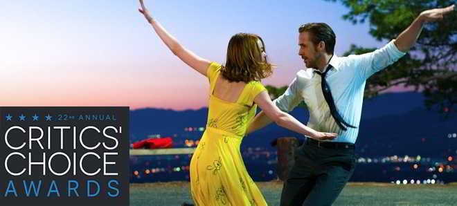 'La La Land', com Emma Stone e Ryan Gosling