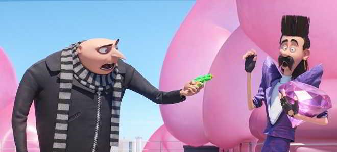 Primeiro trailer legendado em português de 'Gru - O Maldisposto 3'