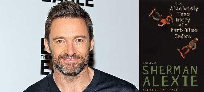 Hugh Jackman vai ser produtor e ator na adaptação de 'Part-Time Indian'