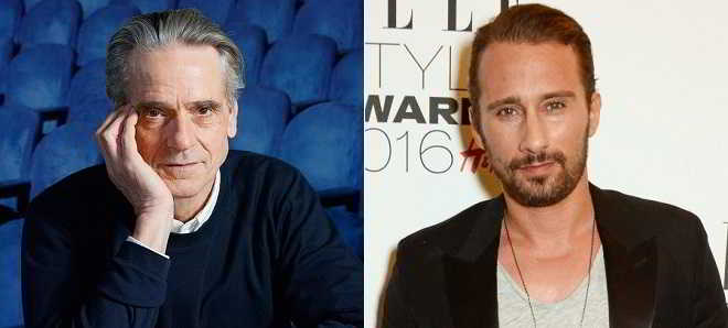 Jeremy Irons e Matthias Schoenaerts no elenco do thriller 'Red Sparrow'