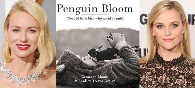 Naomi Watts e Reese Witherpoon juntas na produção de 'Penguin Bloom'