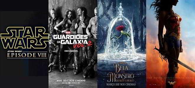 Os filmes mais aguardados de 2017 segundo o site Fandango