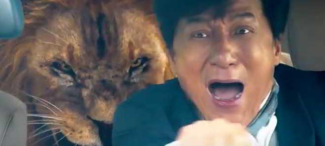 Jackie Chan no trailer oficial da comédia de ação 'Kung Fu Yoga'