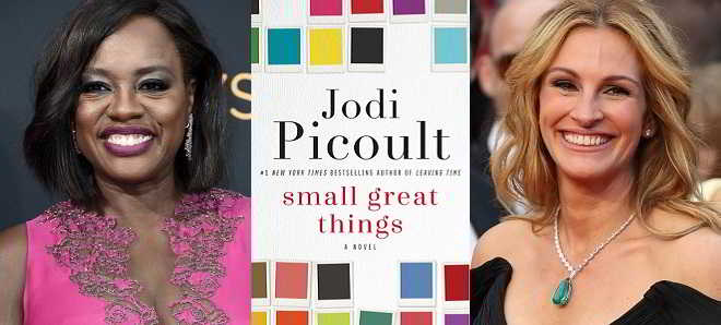 Viola Davis e Julia Roberts vão protagonizar a adaptação de 'Small Great Things'