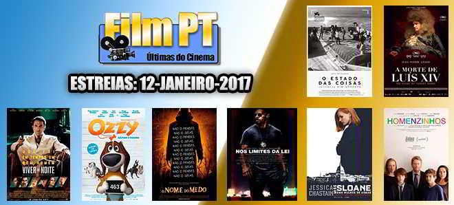 Estreias de Filmes da Semana: 12 de janeiro de 2017