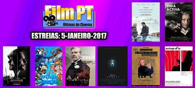 Estreias de Filmes da Semana: 5 de janeiro de 2017