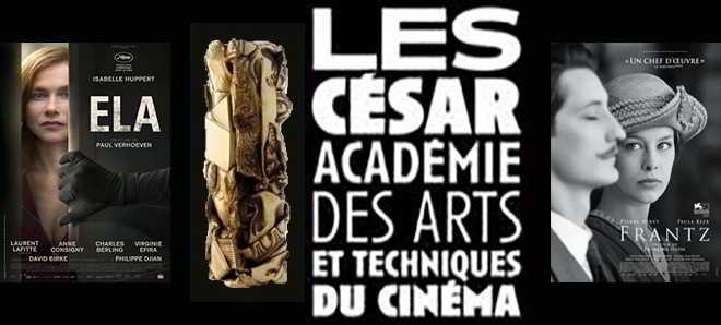 Lista oficial dos nomeados à 42ª edição dos César, os