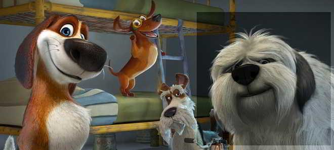 Trailer dobrado em português da animação 'Ozzy: Rápido e Peludo'
