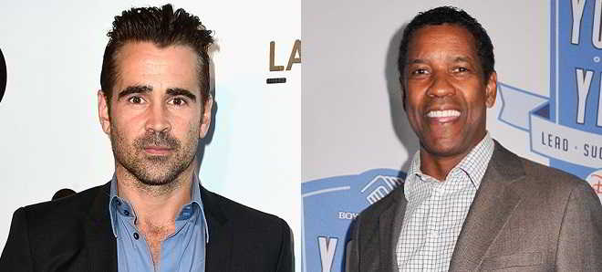 Colin Farrell em negociações para juntar-se a Denzel Washington em 'Inner City'