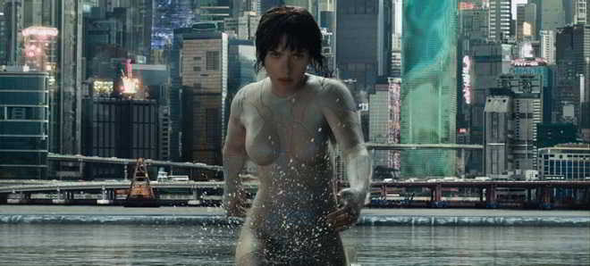 Novo trailer português de 'Ghost in the Shell: Agente do Futuro'