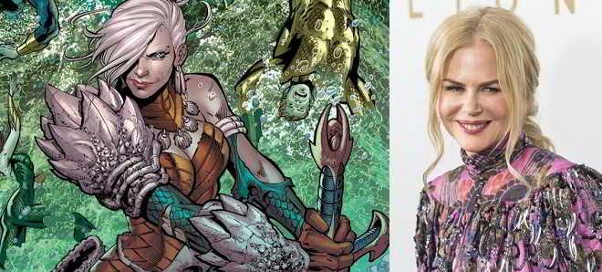 'Aquaman': Nicole Kidman poderá interpretar Atlanna, a mãe do herói