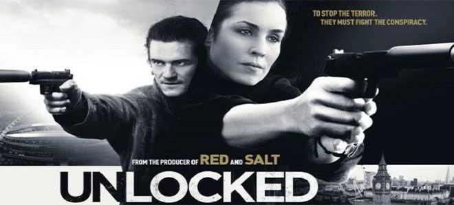 Trailer oficial de 'Unlocked', thriller de ação com Noomi Rapace e Orlando Bloom