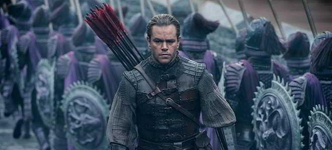 Trailer português de 'A Grande Muralha' com Matt Damon e Willem Dafoe