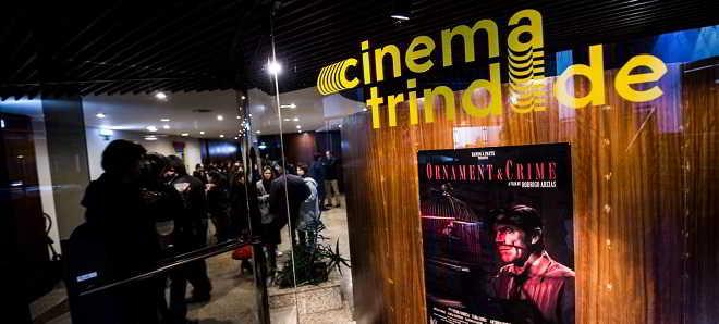 17 anos depois Cinema Trindade reabriu as suas portas na baixa portuense