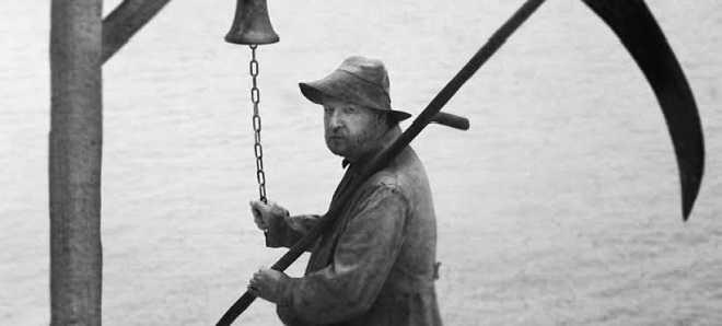 Lars von Trier na primeira foto de referência ao seu filme sobre Jack, o Estripador