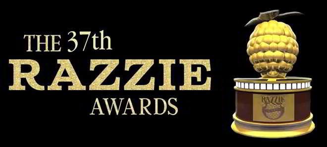 37ª Golden Raspberry Awards: Conheça todos os vencedores