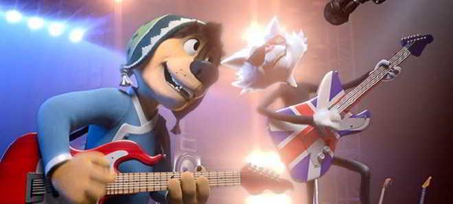Trailer dobrado em português da animação 'Rock Dog: Um Sonho Altamente'