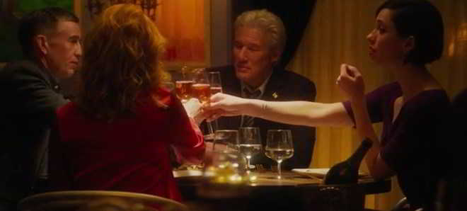 Trailer oficial do thriller 'The Dinner' com  Richard Gere e Rebecca Hall