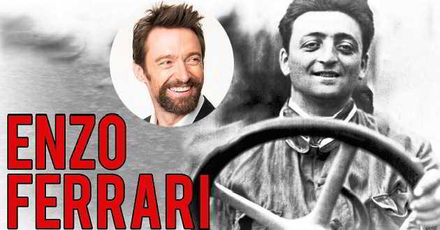 Hugh Jackman em negociações para protagonizar a cinebiografia de Enzo Ferrari
