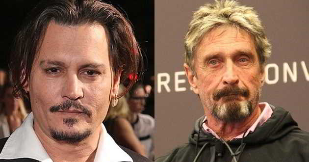 Johnny Depp vai interpretar o criador do software antivírus John McAfee