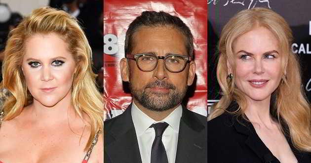 Amy Schumer junta-se a Steve Carell e Nicole Kidman na comédia 'She Came to Me'