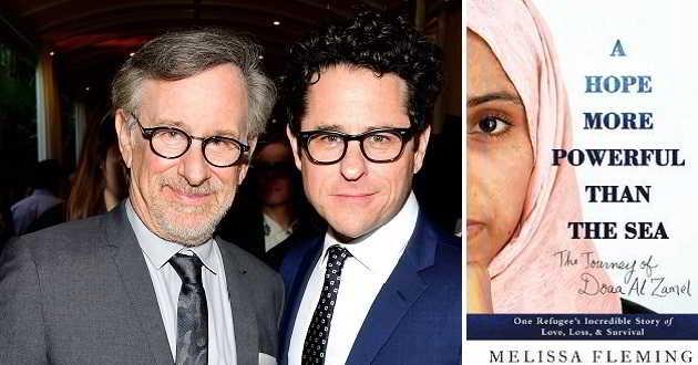 Steven Spielberg e J.J. Abrams juntos numa adaptação sobre uma refugiada síria
