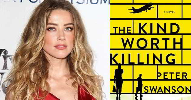 Amber Heard vai protagonizar o thriller 'The Kind Worth Killing'