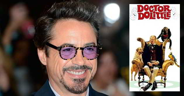 Robert Downey Jr. confirmado como o próximo Dr. Dolittle