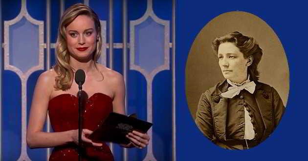 Brie Larson vai ser a primeira candidata à presidência dos EUA em 'Victoria Woodhull'