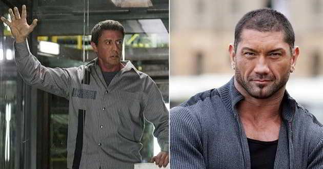 Dave Bautista juntou-se a Sylvester Stallone no elenco de 'Plano de Fuga 2'