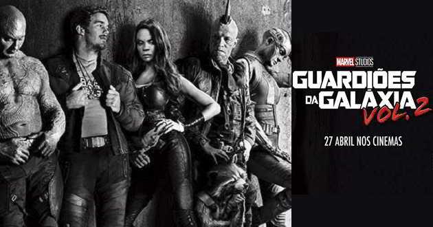 Antecipada a estreia em Portugal de 'Guardiões das Galáxia Vol. 2'