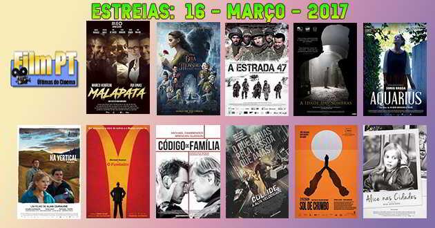 Estreias de Filmes da Semana: 16 de março de 2017