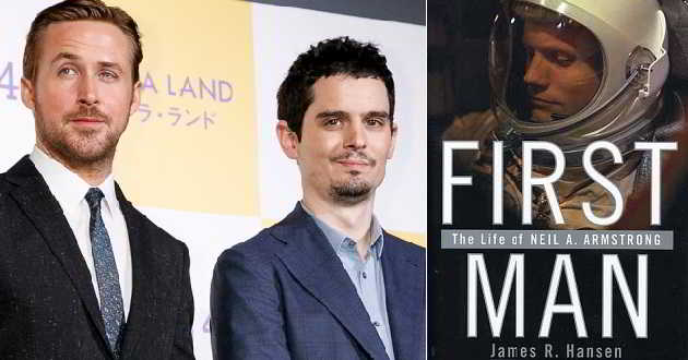 'First Man': Filme de Damien Chazelle com Ryan Gosling nos cinemas em 2018