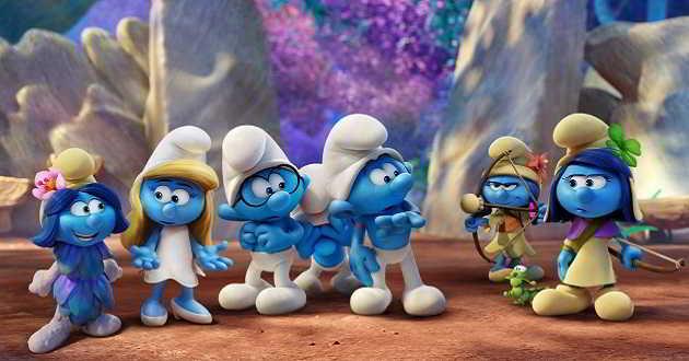 Trailer dobrado em português da animação 'Smurfs: A Aldeia Perdida'